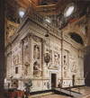 L'ornamento marmoreo della Santa Casa