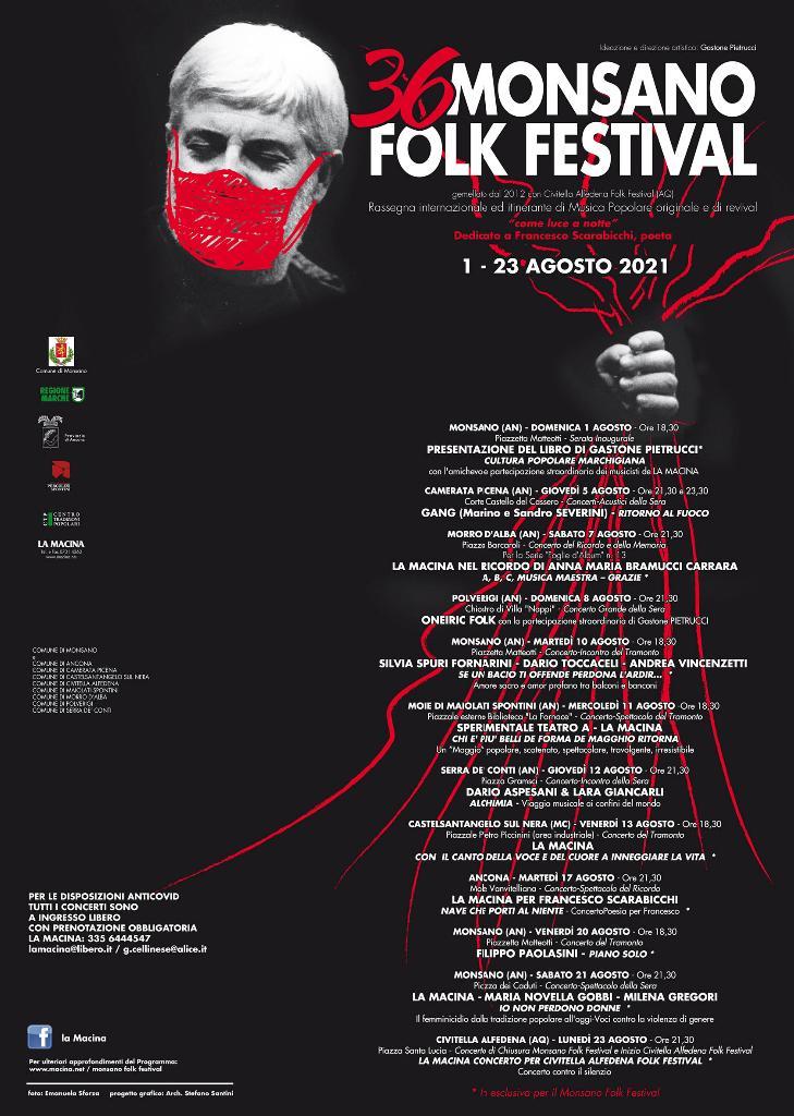 36° Monsano Folk Festival