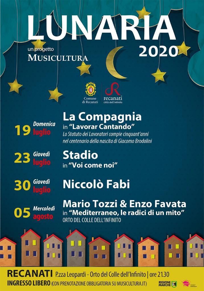 Al via Lunaria, magiche notti di spettacolo
