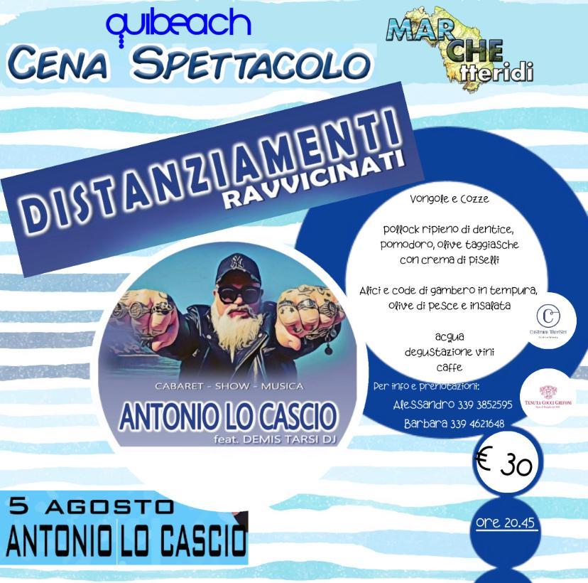 Antonio Lo Cascio al QuiBeach