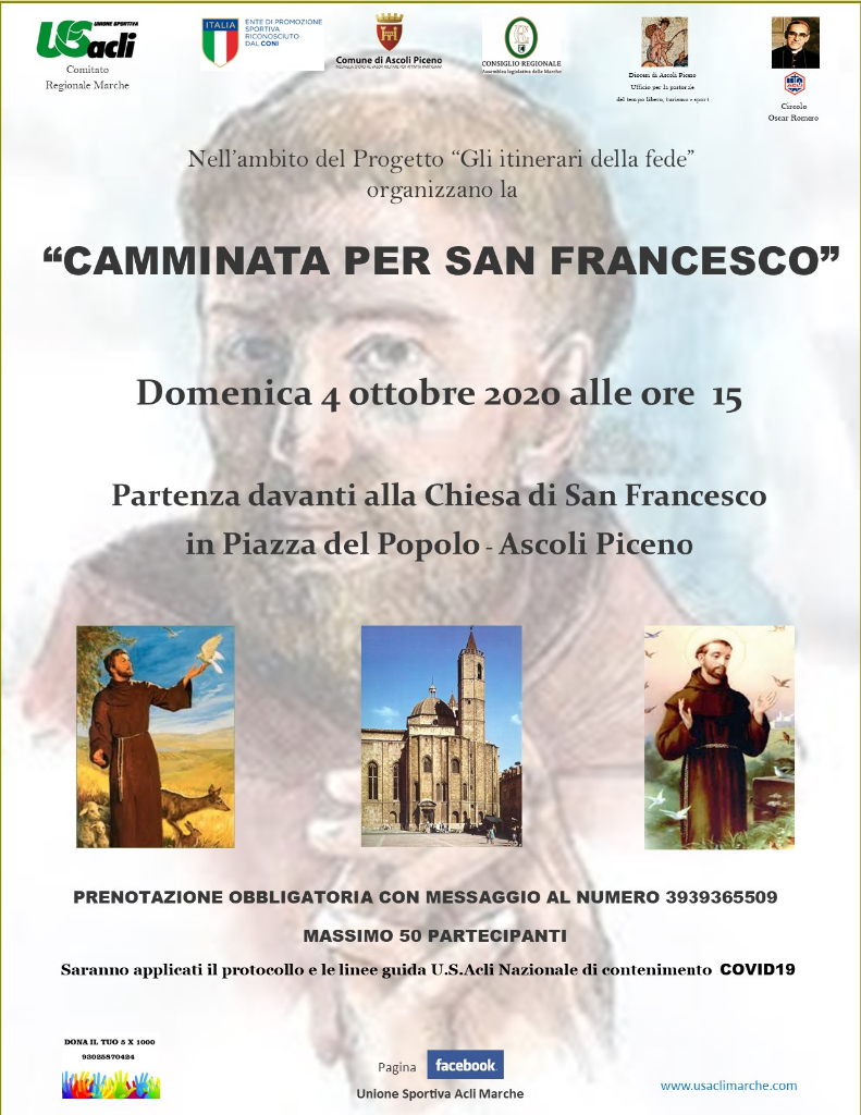 """Camminata per San Francesco"""
