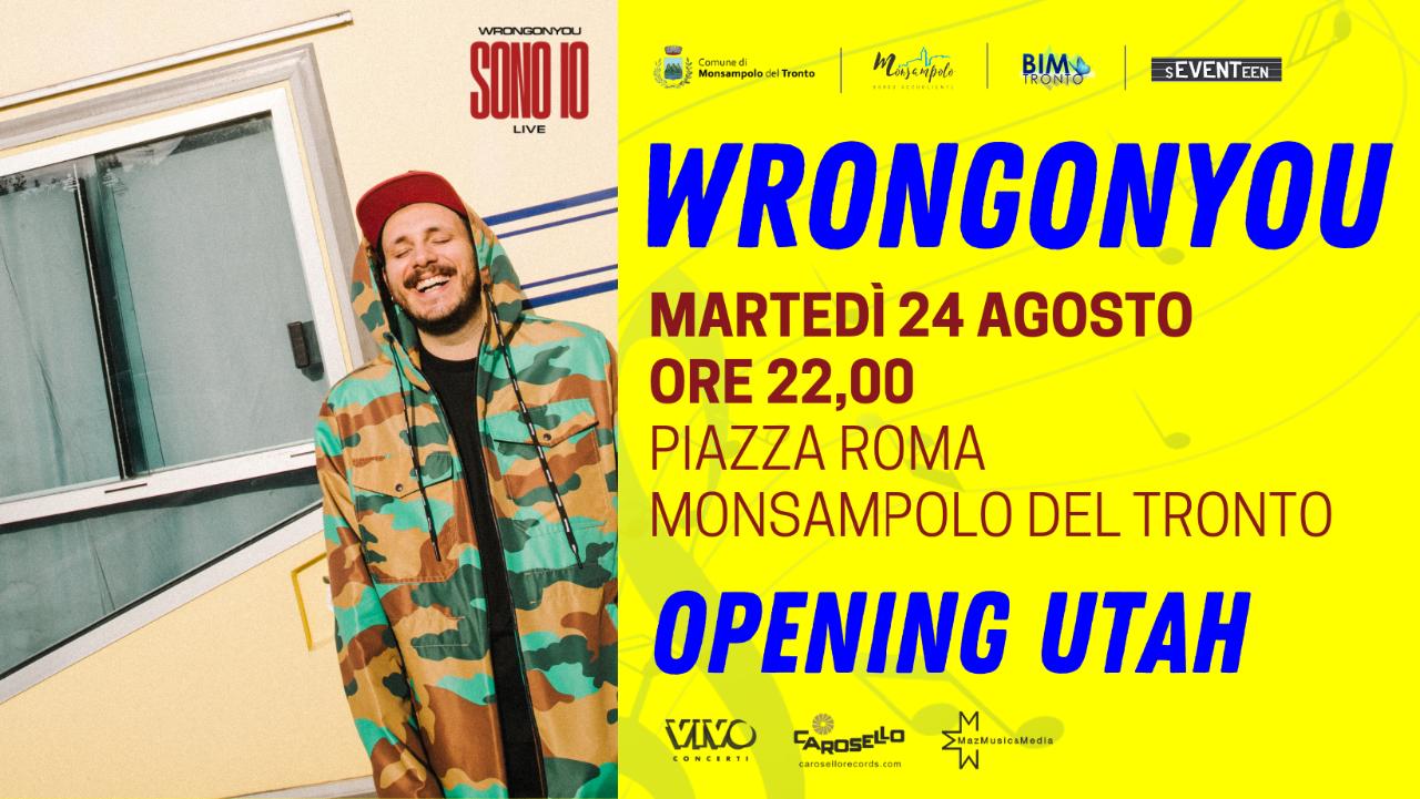 "Concerto Wrongonyou - ""Sono io"" live"
