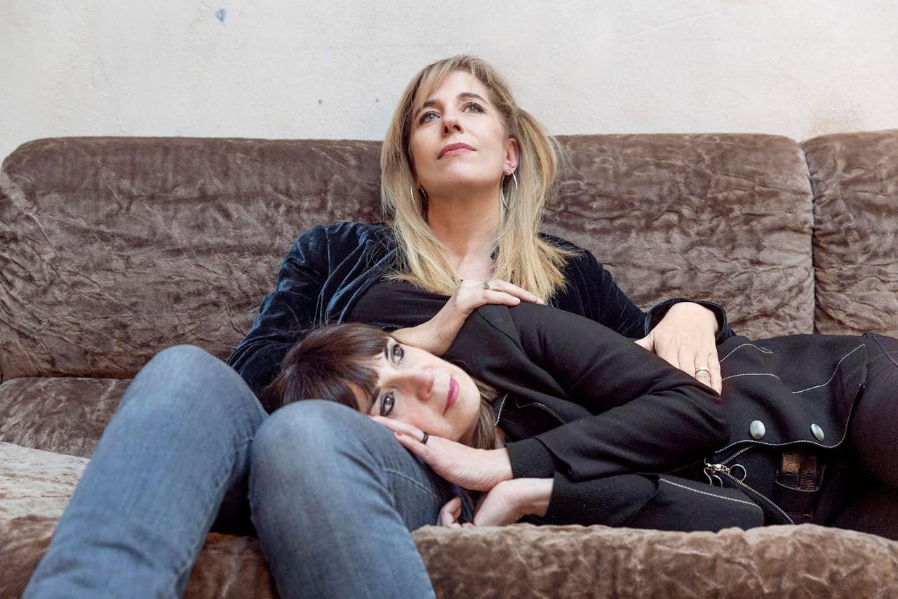 """Cristina Donà e Ginevra Di Marco in """"Così vicine"""""""