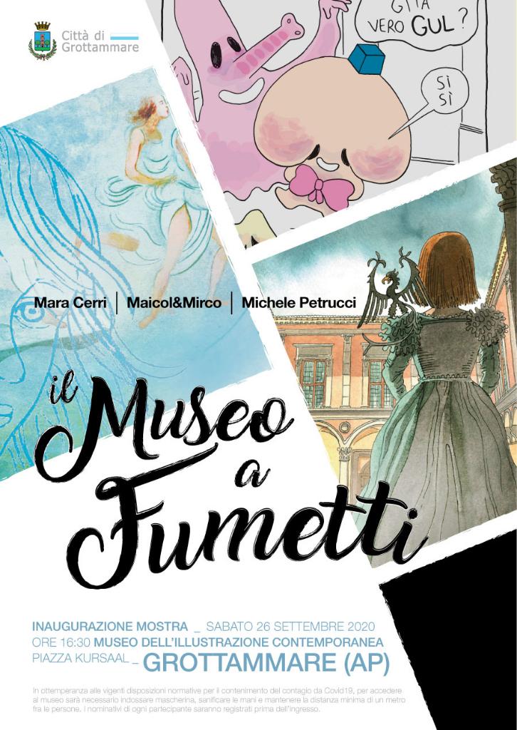 """Il Museo a Fumetti"", mostra al MIC"