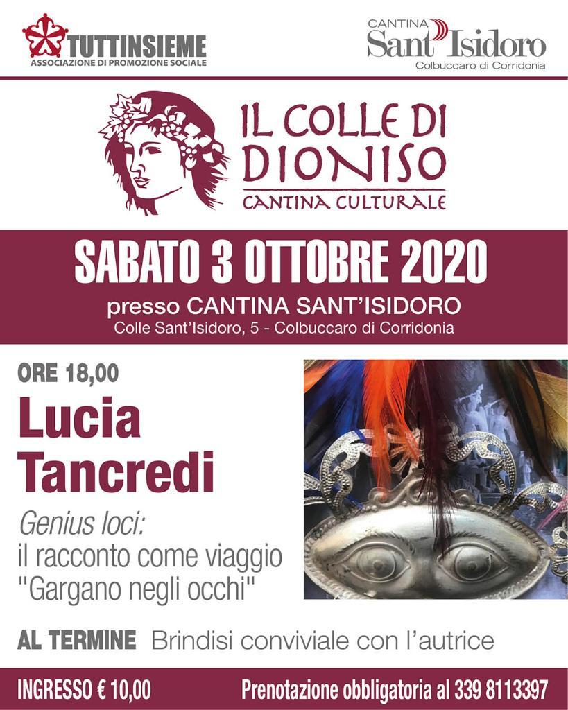 Lucia Tancredi, Genius loci: il racconto come viaggio