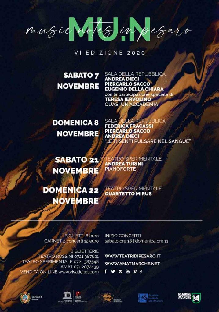 MU.N - Music Notes in Pesaro