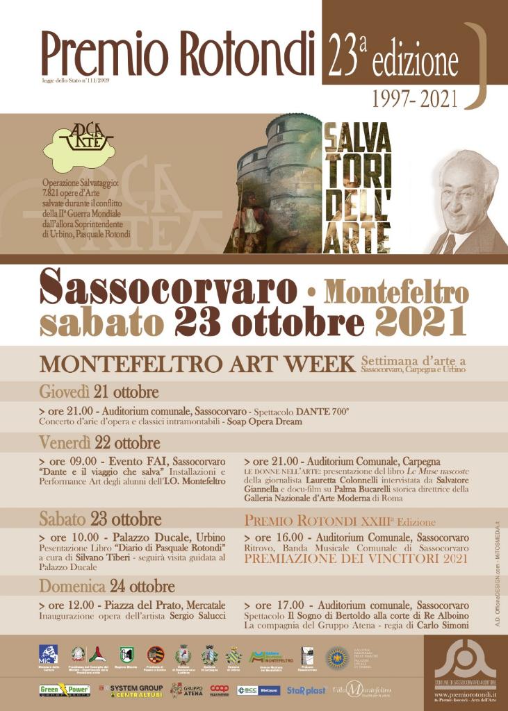 Premio Rotondi 2021 - Art-week Montefeltro