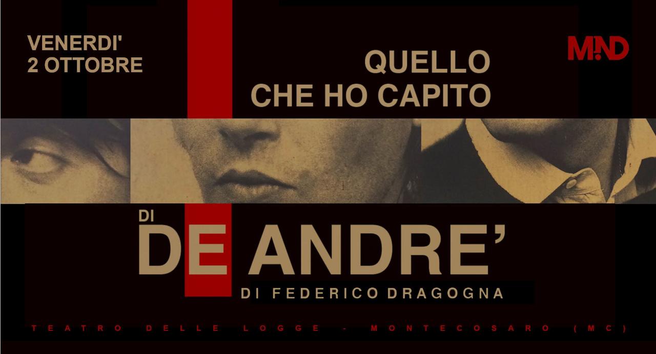 """""""Quello che ho capito di De Andrè"""""""