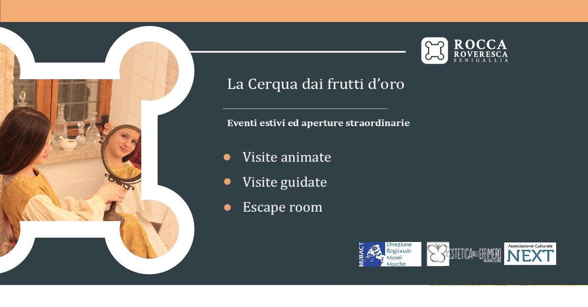 Rocca Roveresca, programmazione culturale Estate 2020
