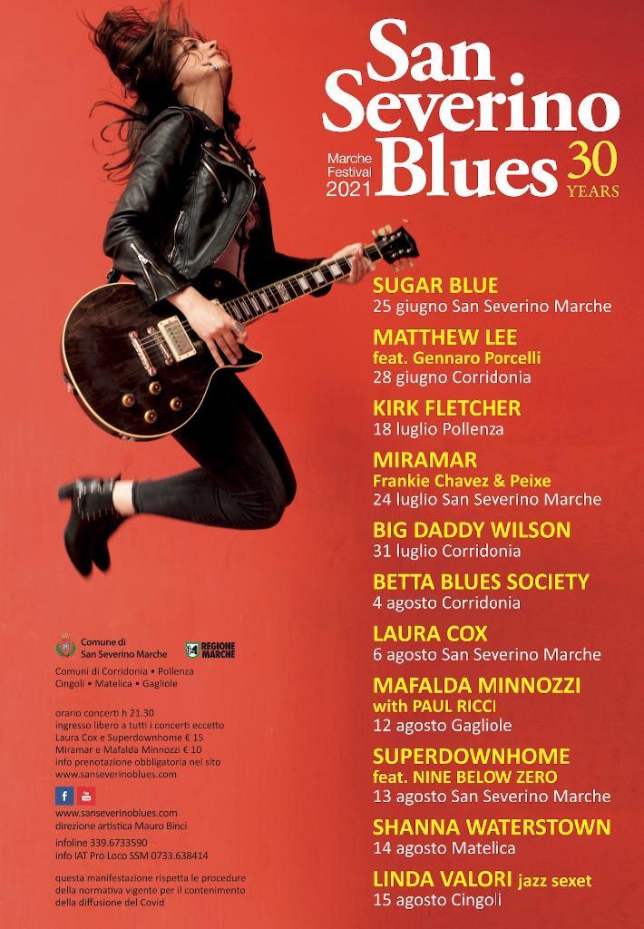 San Severino Blues Marche festival, XXX edizione