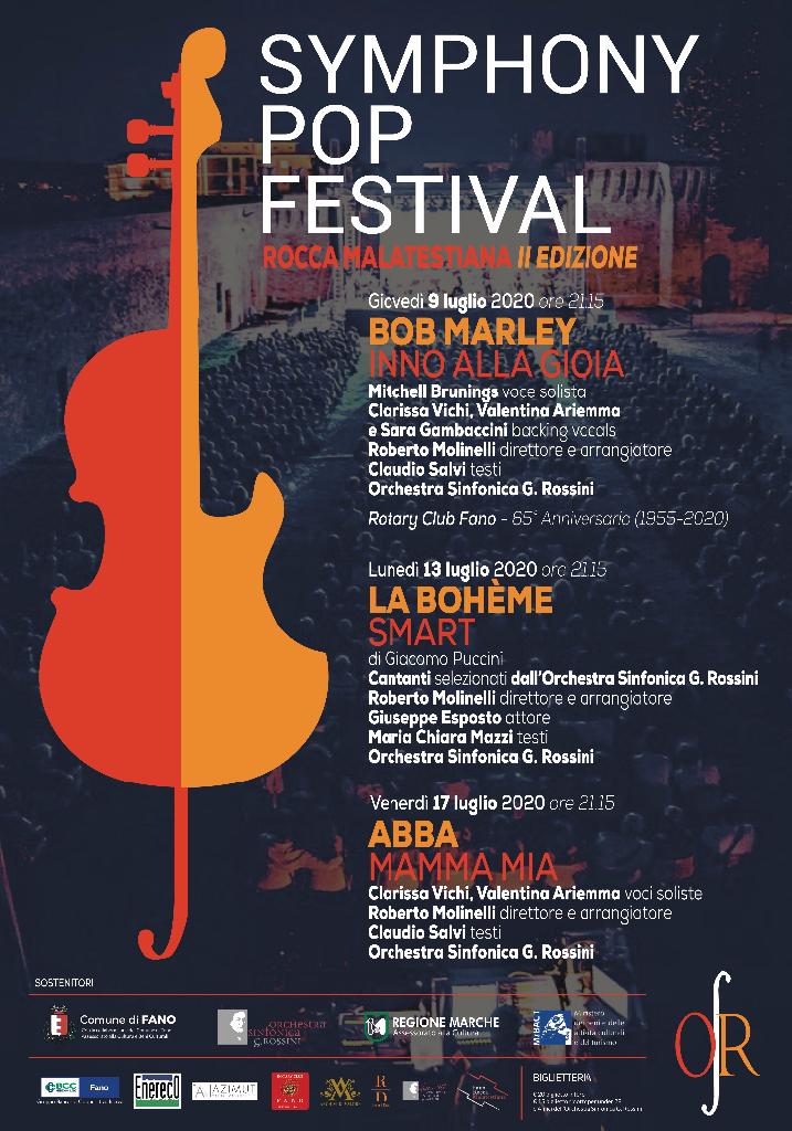Symphony Pop Festival e Tracce