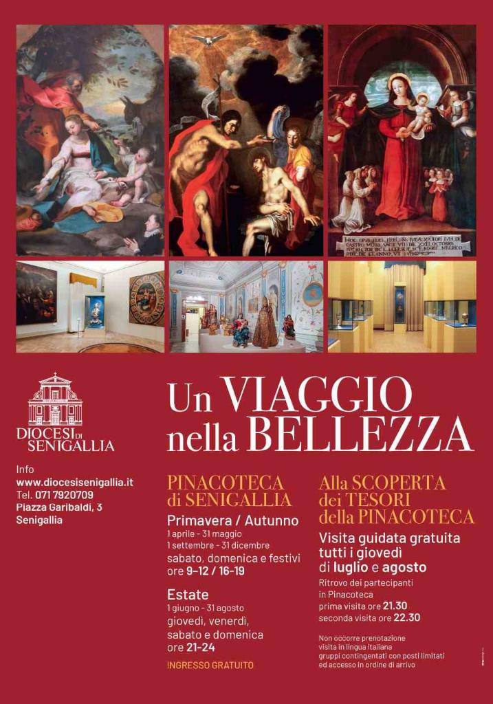 Visite guidate gratuite alla Pinacoteca di Senigallia